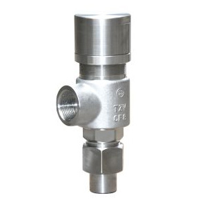 Sring loaded low lift externl thread saety valve(A21H)
