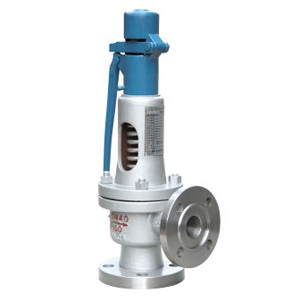 Spring loaded low lift safety valve with a lever(A47Y)