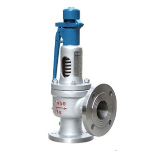 Spring loaded full lift safety valve with a lever(A48Y)