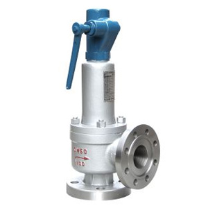 Spring loaded full lift closed safety valve with a lever(A44Y)